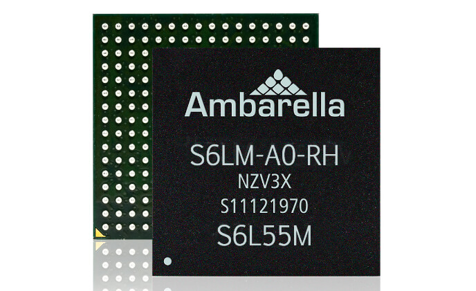 Ambarella S6LM SoC has imaging technology for both pro and home cameras