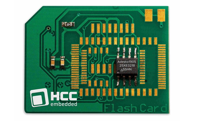 HCC Embedded flash management adds support for Adesto FusionHD devices