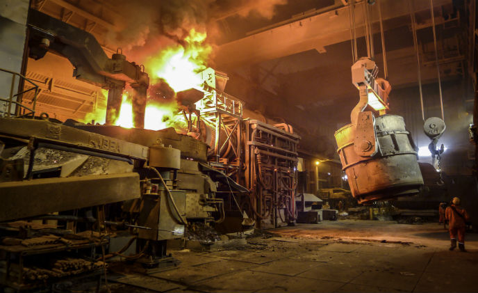 SCATI camera solution supports steel producing facilities in Spain