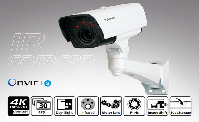 Ultra HD IR camera for highest resolution at night