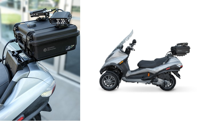 Genetec announces scooter-mounted AutoVu Motoscan parking solution