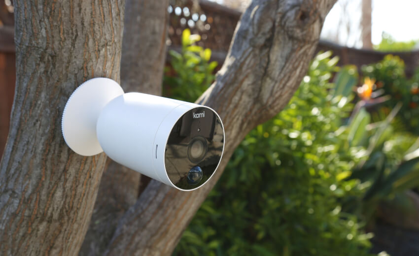 Kami introduces the practical and easy-to-install outdoor battery camera