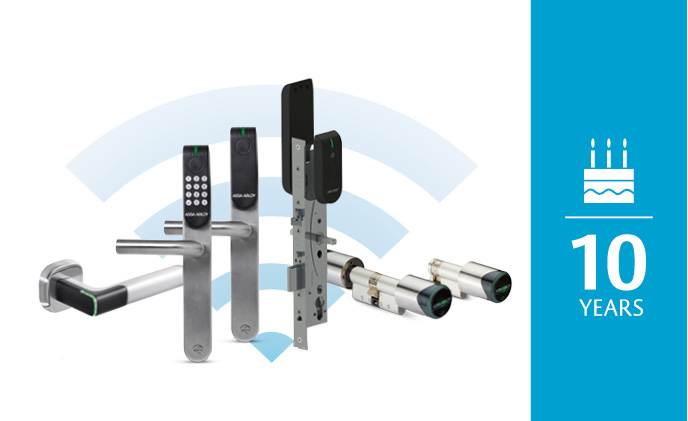 10 years of trust and innovation in wireless access control