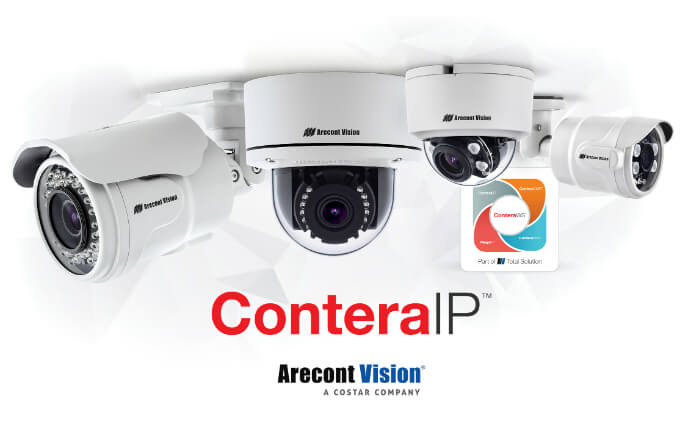 Arecont Vision Costar announces availability of all ConteraIP cameras