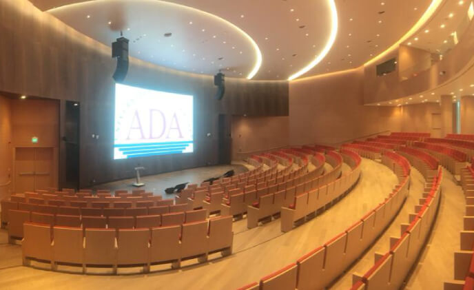 First Dahua LED screen project in Azerbaijan delivered for ADA University
