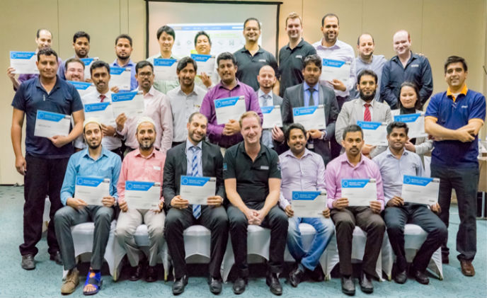 Promise Technology certifies over 60 security professionals in Middle East
