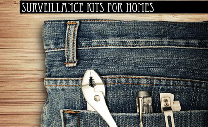 DIY surveillance kits for homes
