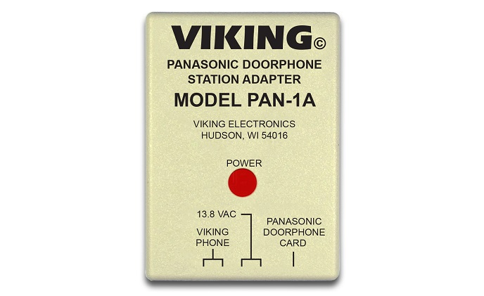 Viking Electronics introduces the PAN-1A door phone station adapter