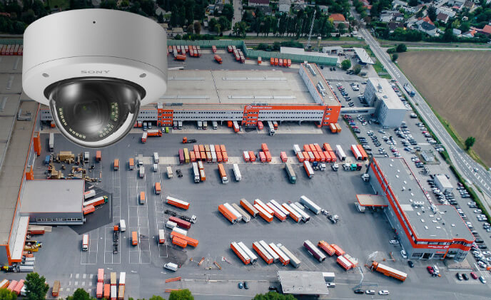 Sony cameras monitor logistics chain of Gebrüder Weiss