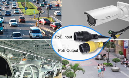 VIVOTEK launches network camera with embedded PoE extender