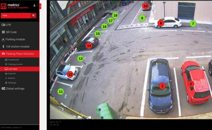 Metrici is launching Parking Place Detector