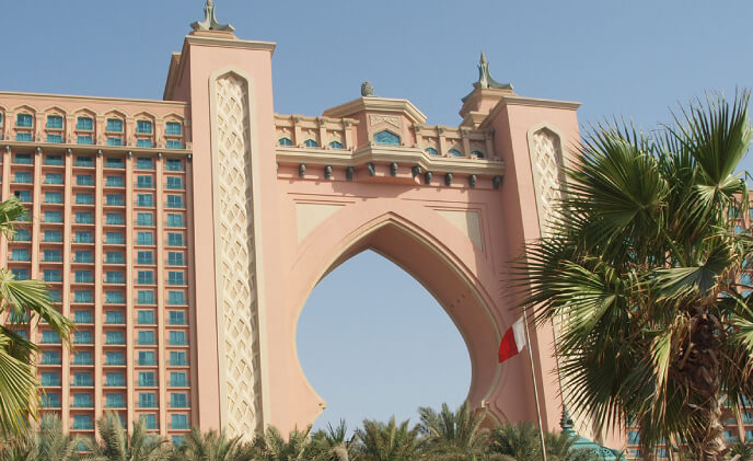 Synectics protects Dubai's iconic resort with Synergy software