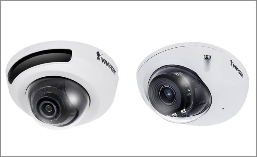 VIVOTEK launches new compact three-axis IR mini dome camera solutions