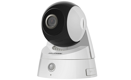 Hikvision adds mini IR PT camera to easy IP range