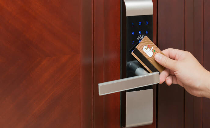 Wi-Charge and ZKTeco USA showcase smart locks with wireless power