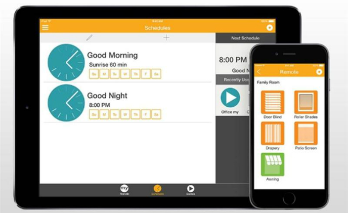 Somfy myLink now available in a tablet version for home motorization