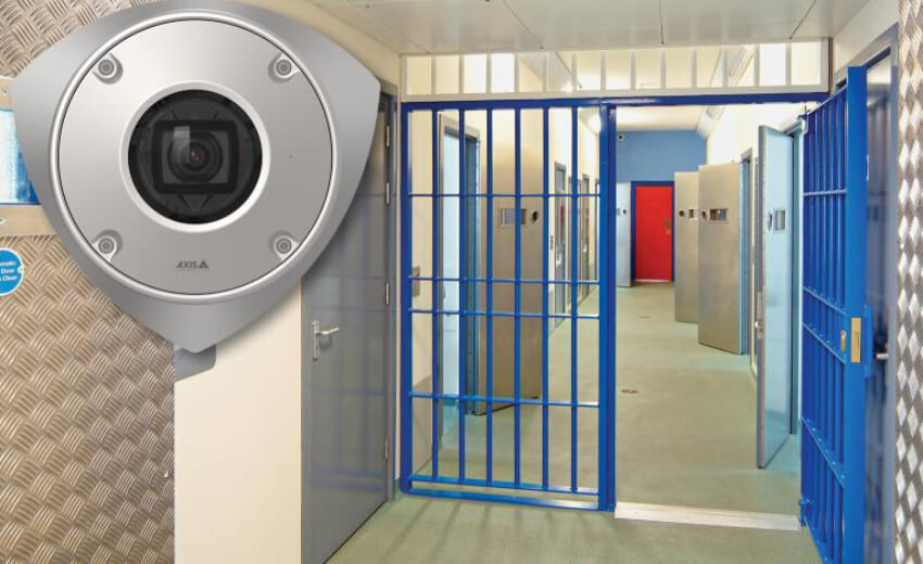 New impact resistant corner-mount camera for high-security installations