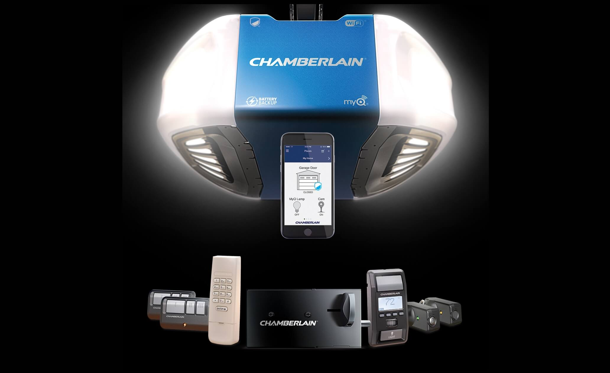 Chamberlain Ultimate Security Bundle increases garage security