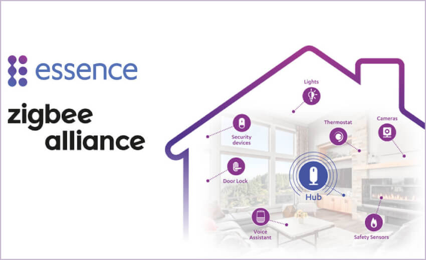 Essence joins the Zigbee Alliance to develop standards for smart home devices