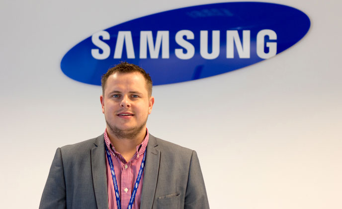 Samsung Techwin appoint Dan England as technology partner manager
