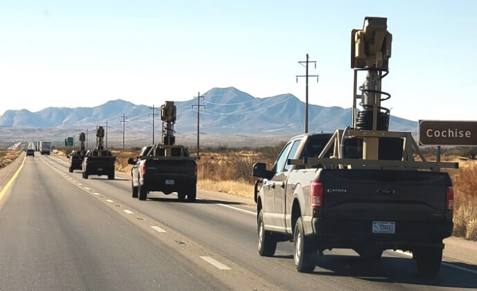 PureTech Systems supports border patrol in San Diego