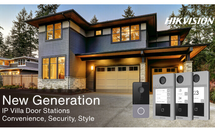 Hikvision releases new generation of IP Villa Door Stations