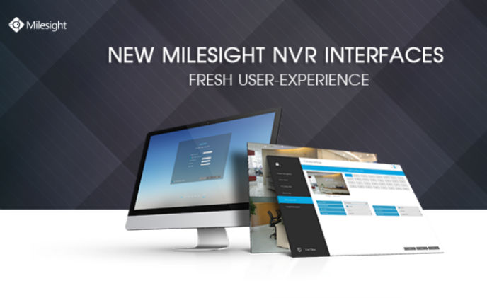 Revolutionary redesign of Milesight NVR interfaces