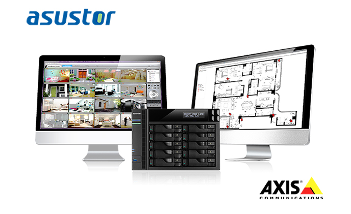 ASUSTOR to exhibit professional surveillance solution at the Axis solution conference 2015