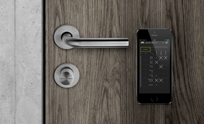 SimonsVoss optimizes its locking system MobileKey for small and medium-sized enterprises