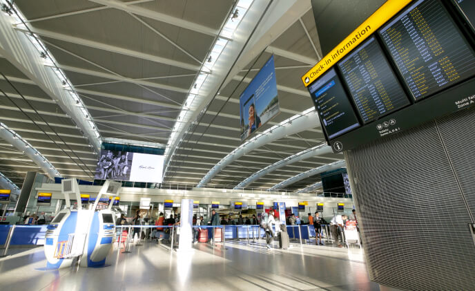 Video surveillance in Il Caravaggio Airport to take off with MOBOTIX