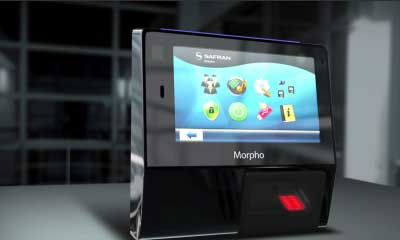 Morpho/Safran launches new biometric access and time terminals