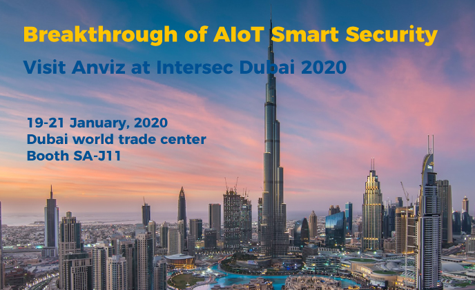 Breakthrough AIOT smart security at Intersec Anviz booth