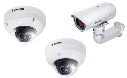 VIVOTEK launches new 3-Megapixel WDR pro network cameras