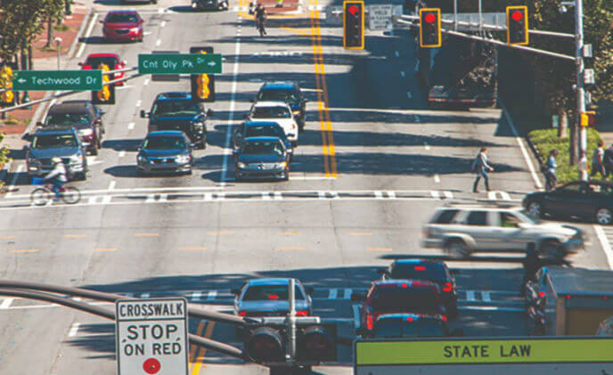 Atlanta's Smart Corridor uses Axis smart cameras to move traffic