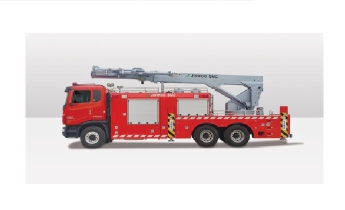 JinWoo SMC remote control demolition fire apparatus