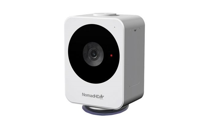NomadHD portable IP camera is now smaller with better performance