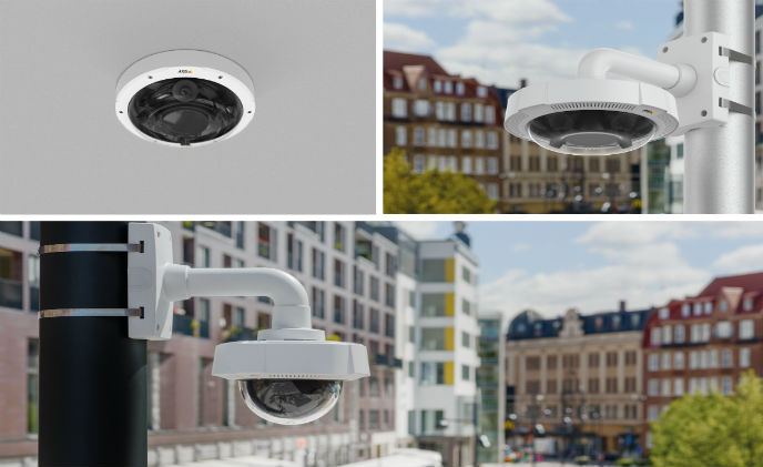 Axis introduces two new multi-sensor panoramic cameras