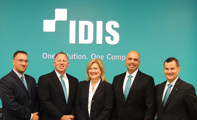 IDIS introduces American sales team as newly launched IDIS America continues to grow