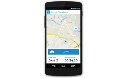 Nedap releases parking license App