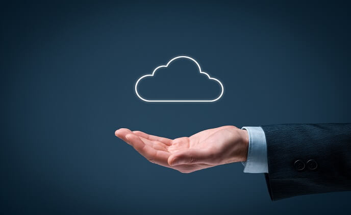 Is cloud-storage for security popular in India?