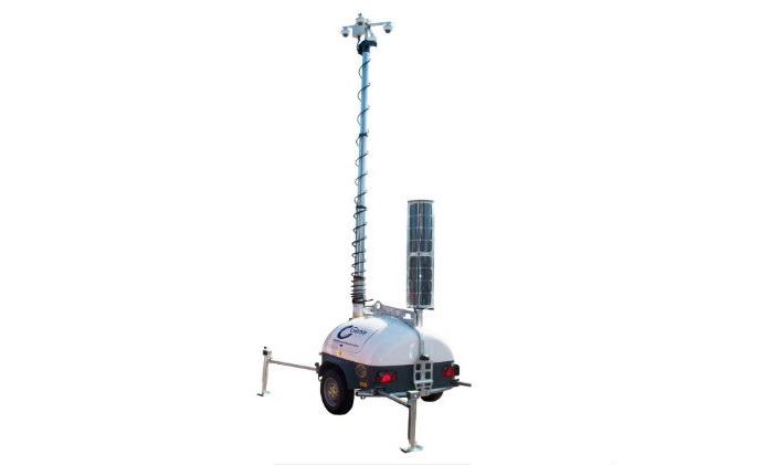 Genie launches SolarGuard RD solar-powered mobile video surveillance trailer v1.2