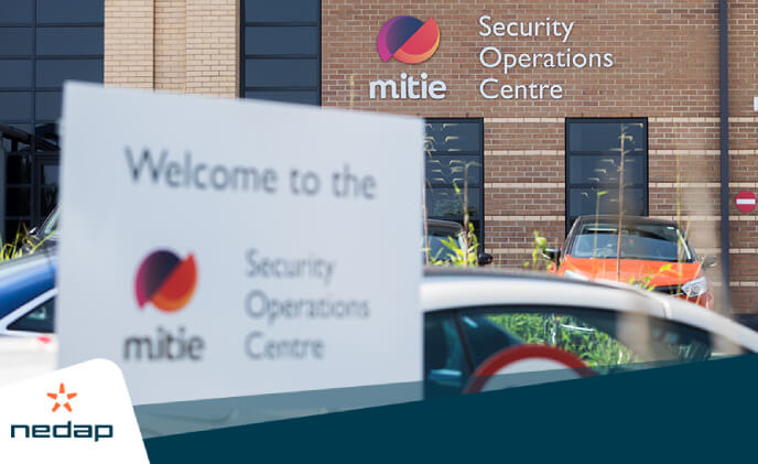 Mitie names Nedap as a strategic partner for access control