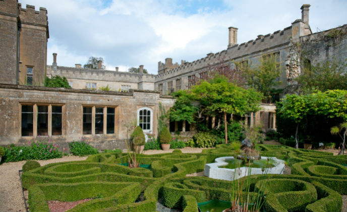 Alpro opening doors at Sudeley Castle