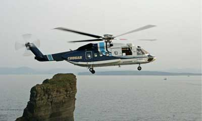 Tyco secures Cougar Helicopters at St. John's Int'l Airport