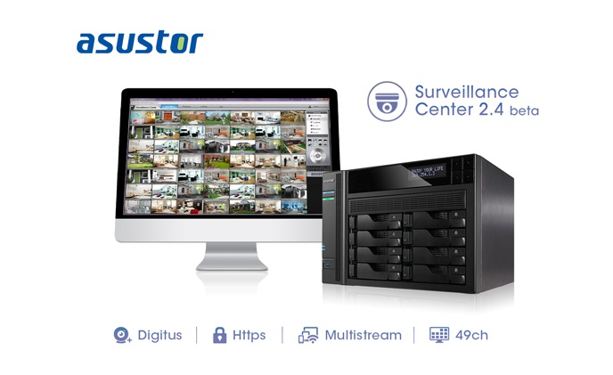 ASUSTOR releases Surveillance Center 2.4 beta