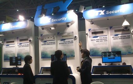 [Secutech2014] ITX high-end DVR highlights 960H features