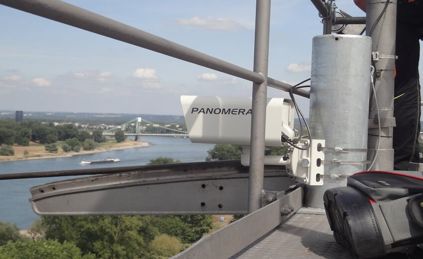 Dallmeier panoramic cameras ensure safety for Cologne Cable Cars