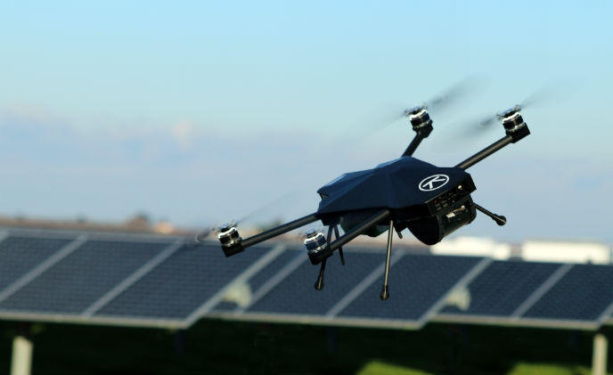 Drone As A Service To Replace Security Guards Asmag Com