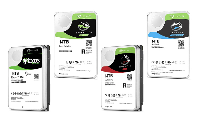 Seagate unveils advanced 14TB data storage portfolio