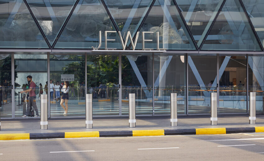 ATG Access lands major security project with Jewel Changi Airport